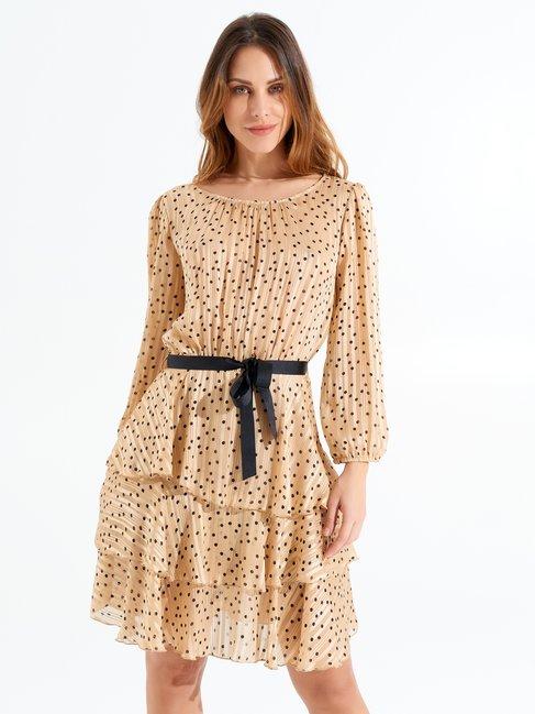 Dress var beige - CFC0017285002B430