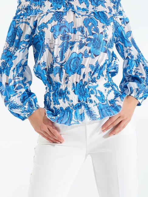 Shirt / Blouse var Turquoise - CFC0017297002B429