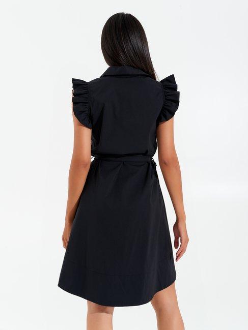 Short Asymmetrical Dress Black - CFC0017351002B001
