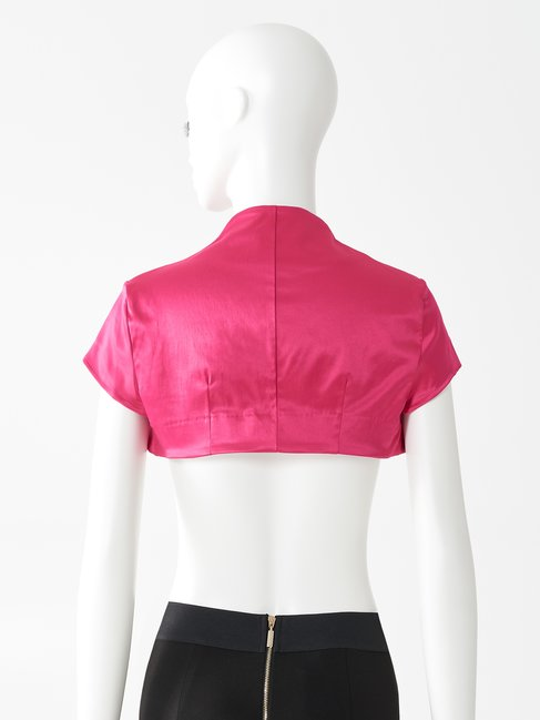 Satin Shrug Jacket fuxia - CFC0074112003B238