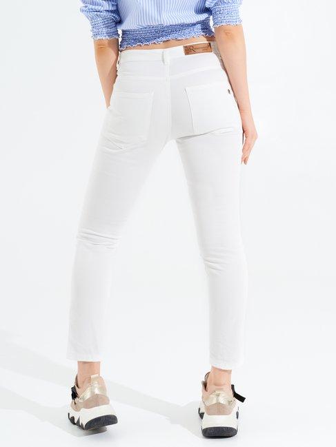 Cotton Skinny Pants White - CFC0096980003B021