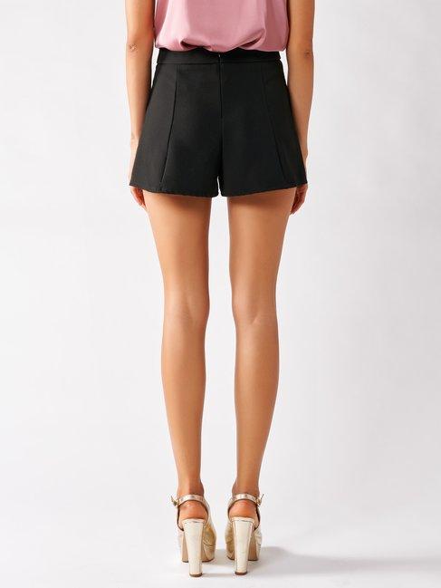 Shorts in Scuba Crêpe Black - CFC0096995003B001