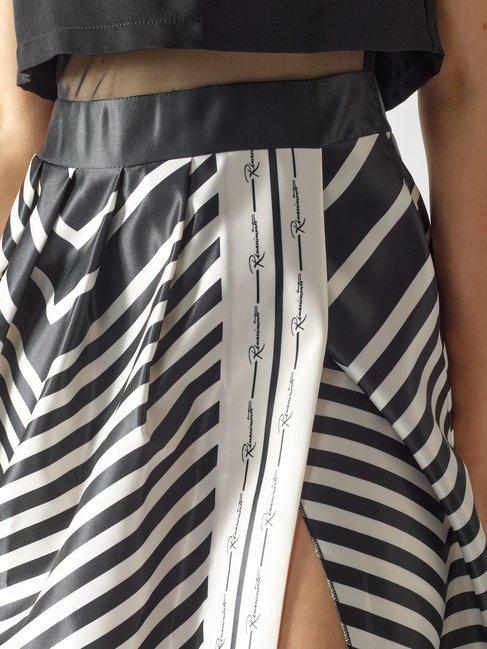 Vestido Largo con Abertura Var. Negro - CFC0097041003B473