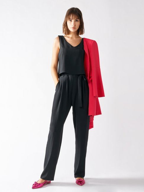 Jumpsuit with Bow Black - CFC0097098003B001