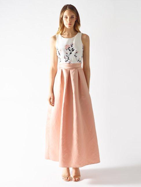 Long Two-Piece Effect Dress var. Pink - CFC0097179003B476