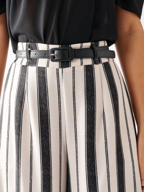 Striped Palazzo Trousers var black - CFC0097196003B473
