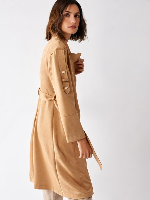 Trench in Dainetto Beige - CFC0097241003B101