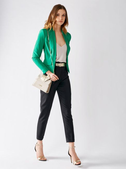 Short Shaped Jacket Green - CFC0097440003B141
