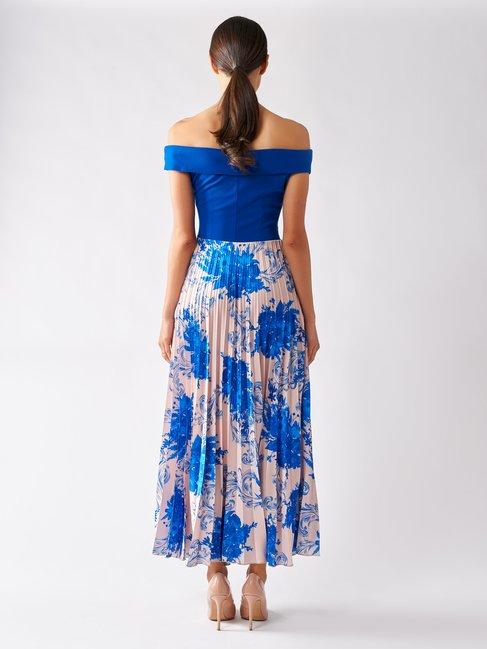 Dress var blue china - CFC0097769003B442