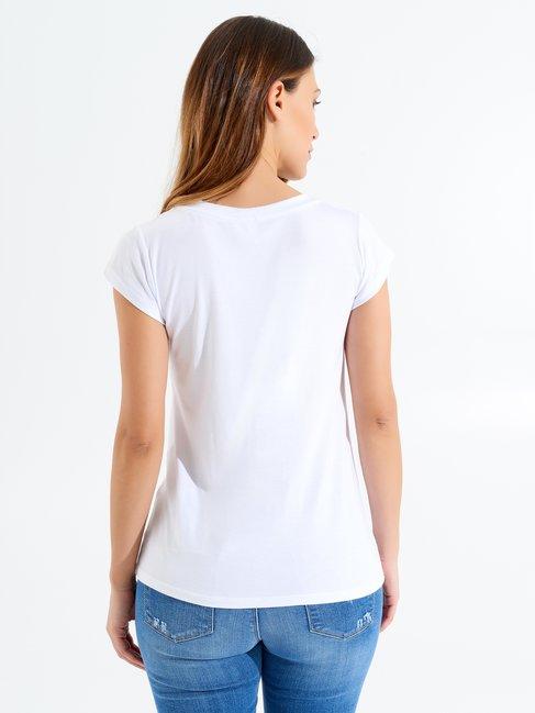 T-shirt Style Blanc - CFC0097915003B021