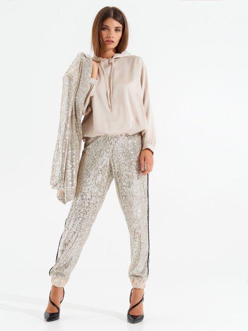Soft georgette blouse White - CFC0099550003B021