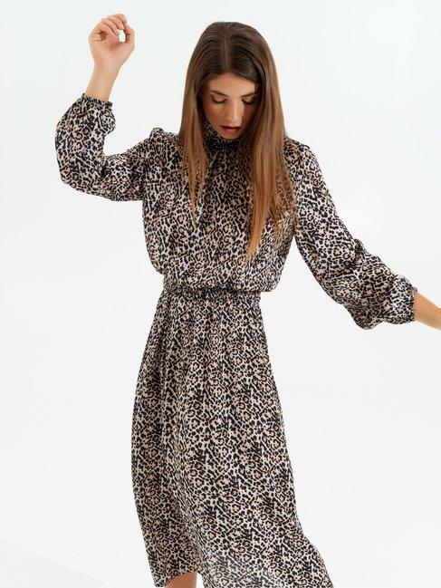 Animal-print dress var. Pink - CFC0099591003B476