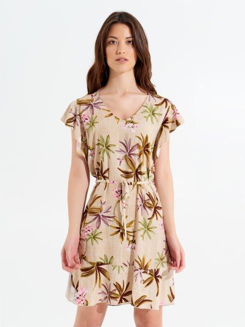 Dress var beige - CFC0099626003B430