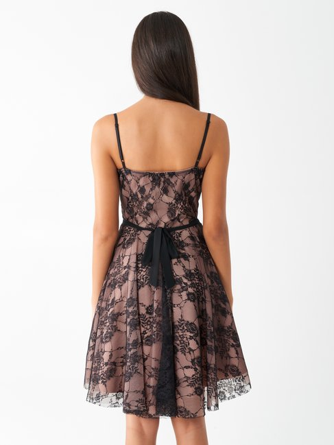 Elegant lace dress var black - CFC0099646003B473