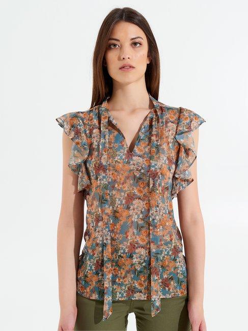 Top / T-shirt Zuckerpapier Hellblau - CFC0099661003B393