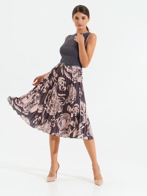 Chic lady dress var grey - CFC0099960003B456