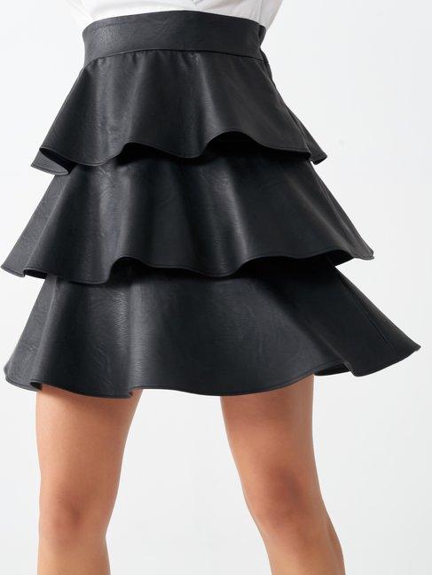 Short two-piece dress var black - CFC0100623003B473