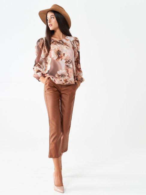 Shirt / Blouse var brown - CFC0100693003B466
