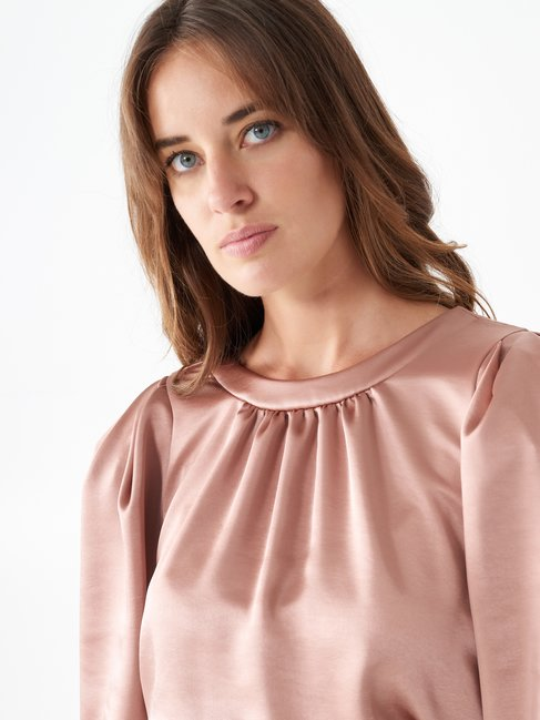 Short satin dress Pink - CFC0100752003B221