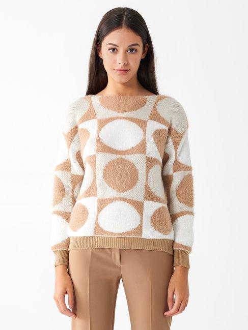 Circle jumper Var. camel beige - CFM0009885003B517