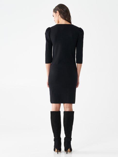 Chain sheath dress Black - CFM0010006003B001